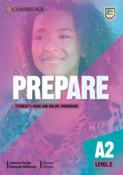 Prepare Second edition Level2 Student's Book and Online Workbook