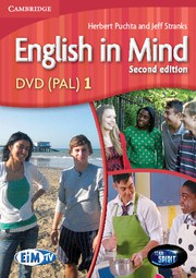 English in Mind Second edition Level1 DVD (PAL)
