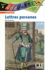 Les lettres persanes - Niveau 2 - Lecture Découverte - Livre