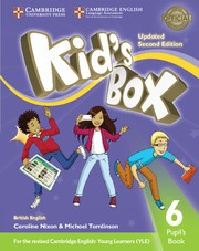 Kid's Box Updated Second edition Level6 Pupil's Book