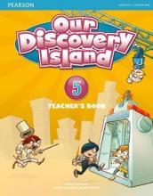 Our Discovery Island Level 5 Docentenboek met code voor leerlingvolgsysteem online spel  (Engelstalig)
