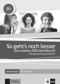 So geht's noch besser bij het Goethe-/ÖSD-Zertifikat B1 Lerarenboek bij het Testboek
