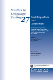 Multilingualism and Assessment Paperback