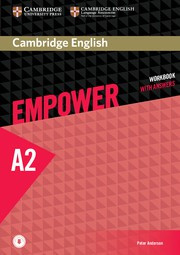 Cambridge English Empower Elementary Workbook with Answers plus Downloadable Audio