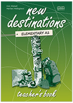 New Destinations Elementary Teacher's Book