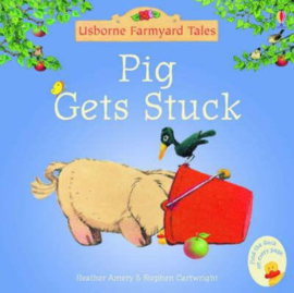 Pig Gets Stuck Sticker Book