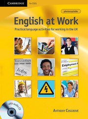 English at Work Book with Audio CD