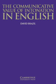 The Communicative Value of Intonation in English Paperback
