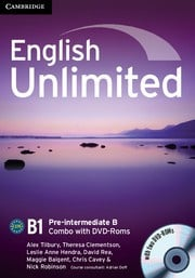 English Unlimited Combos Pre-intermediate B Combo with DVD-ROMs (2)