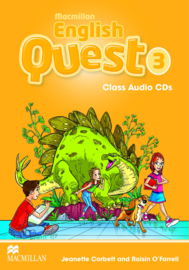 Macmillan English Quest Level 3 Audio CDs (3)