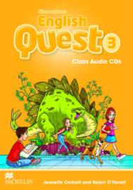 Macmillan English Quest Level 3 Audio CDs (3)