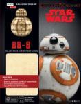 Star Wars BB-8 Deluxe Boek met houten model BB-8 (George Lucas)