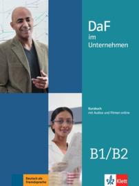 DaF im Unternehmen B1/B2 Studentenboek met Audios en Filmen online