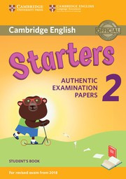 Cambridge English Young Learners 2 Starters Student's Book