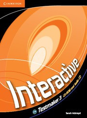 Interactive Level3 Testmaker CD-ROM and Audio CD