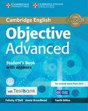 Objective Advanced Fourth edition Student's Book with answers with CD-ROM with Testbank