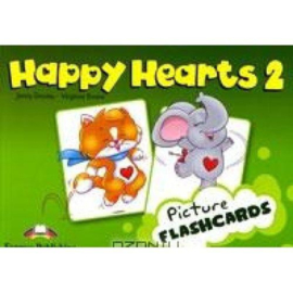 Happy Hearts 2 Picture Flashcards (international)
