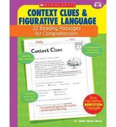 35 Reading Passages for Comprehension: Context Clues  Figurative Language