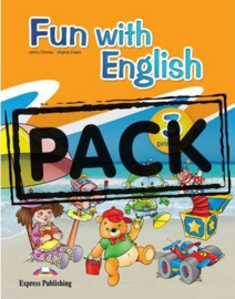 Fun With English 3 Primary Student's Pack With Multi-rom
