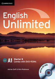 English Unlimited Combos Starter B Combo with DVD-ROMs (2)