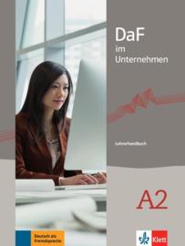 DaF im Unternehmen A2 Lerarenboek