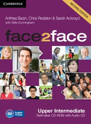 face2face Second edition UpperIntermediate Testmaker CD-ROM and Audio CD