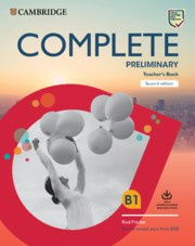 Complete Preliminary Teacher's Book with Downloadable Resource Pack