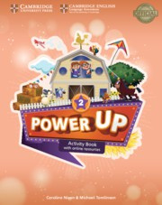 Power Up Level2 Activity Book with Online Resources and Home Booklet