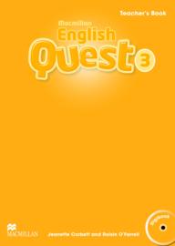 Macmillan English Quest Level 3 Teacher's Book Pack