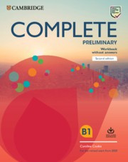 Complete Preliminary Workbook without answers with Audio Download