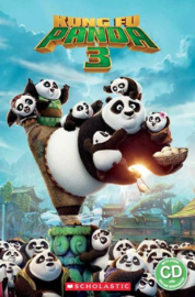 Kung Fu Panda 3 + audio-cd (Level 3)