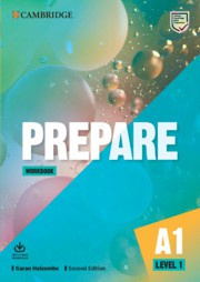 Prepare Second edition Level1 Workbook with Audio Download