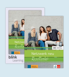 Netzwerk neu A2.2 - Media Bundle Studentenboek en Oefenboek met Audios/Videos inklusive Lizenzcode für das Studentenboek en Oefenboek met interaktiven Übungen