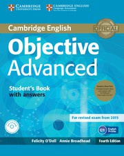 Objective Advanced Fourth edition Student's Book Pack (Student's Book with answers with CD-ROM and Class Audio CDs (3))