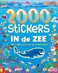 2000 stickers In de zee