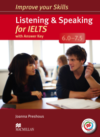 Listening & Speaking for IELTS 6-7.5 Student's Book with key & MPO Pack