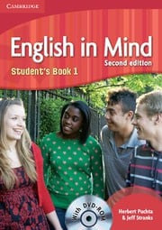 English in Mind Second edition Level1 Student's Book with DVD-ROM