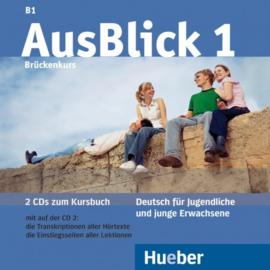 AusBlick 1 2 Audio-CDs bij het Studentenboek