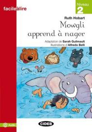 Mowgli apprend à nager
