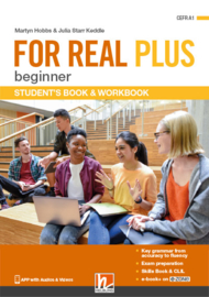 FOR REAL PLUS beginner Student's Pack + ezone