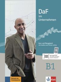 DaF im Unternehmen B1 Studentenboek en Übungsbuch met Audios en Filmen online