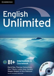 English Unlimited Combos Intermediate A Combo with DVD-ROMs (2)