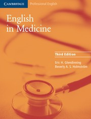 English in Medicine Third edition Book