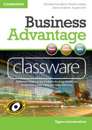 Business Advantage UpperIntermediate Presentation Plus DVD-ROM