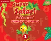 Super Safari British English Level1 Letters and Numbers Workbook