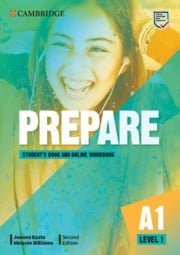 Prepare Second edition Level1 Student's Book and Online Workbook