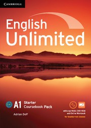English Unlimited Starter Coursebook with ePortfolio and Online Workbook Pack