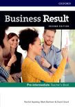 Business Result Pre-intermediate Teacher's Book And Dvd