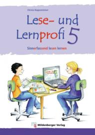 Lese- en Lernprofi 5 – Schülerarbeitsheft – silbierte Ausgabe Leseheft