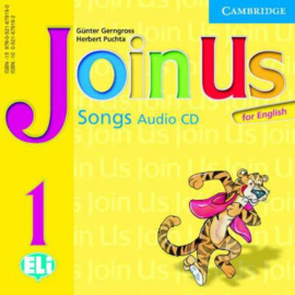Join Us for English Level1 Songs Audio CD